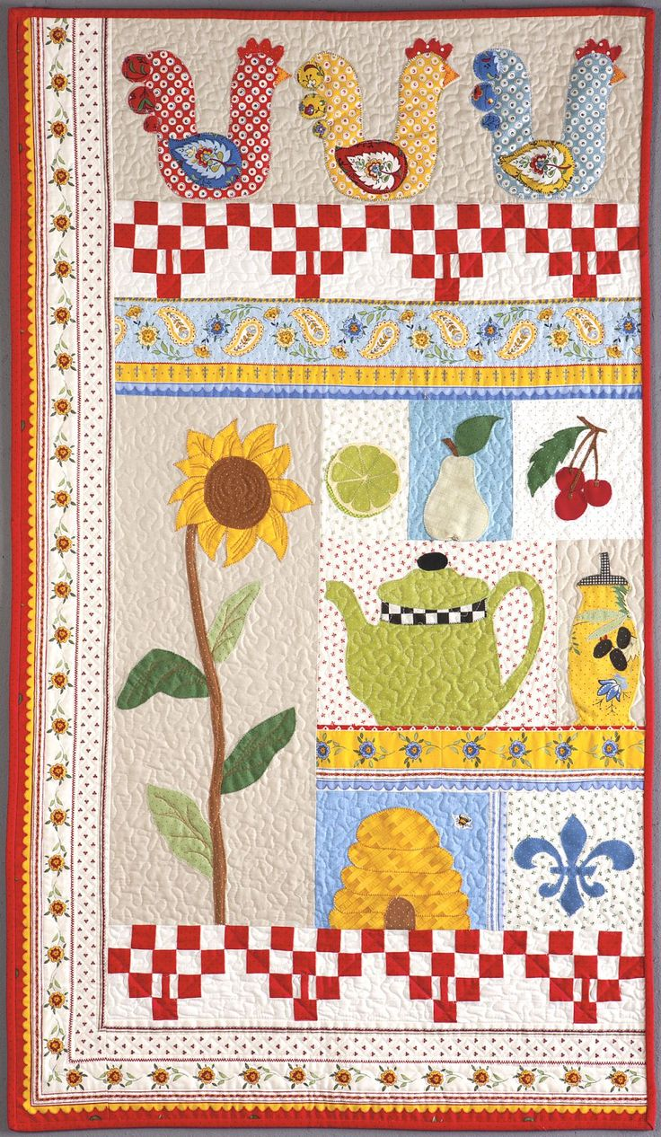 Ten Blocks, Ten Favorite Things quilt by Sandy Klop, from A Baker's Dozen - Kansas City Star Quilts book: