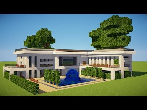 Minecraft: how to build a modern house | Minecraft Stream