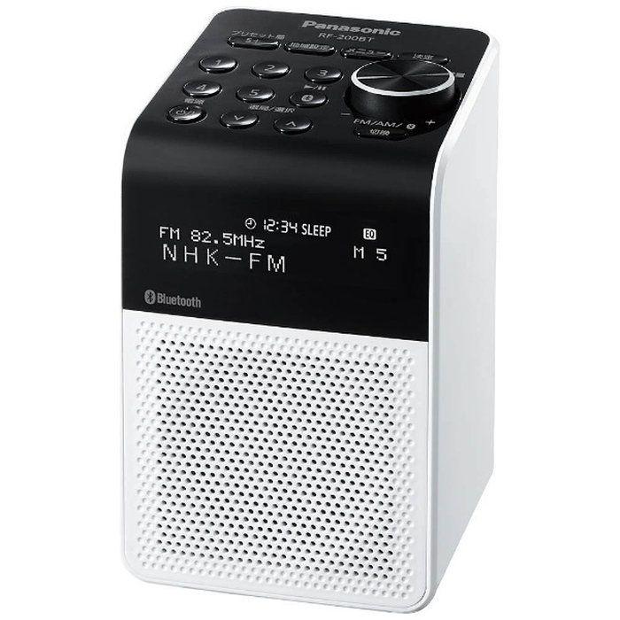 【2017年07月21日発売】【送料無料】パナソニックFM/AMラジオブルートゥース対応RF-200BT