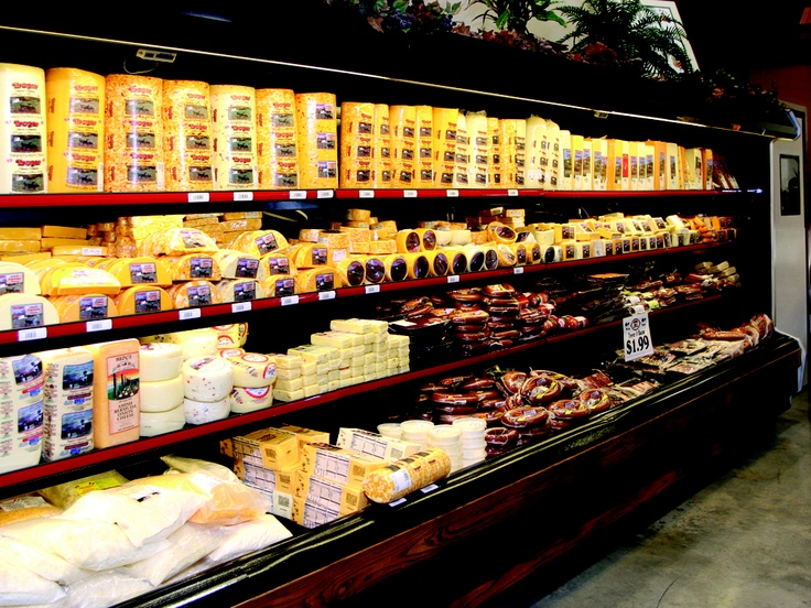 Pack up the cooler and head home with Troyer Country Market cheese and Trail. Check out all the Berlin Main Street Merchants too! CLICK HERE for more on Troyer's at www.OACountry.com! #Ohio #Amish #Tourism #Cheese #Trail