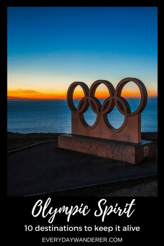 10 destinations to visit to keep the Olympic Spirit alive even when the Games aren't taking place #olympics #olympicspirit #travel