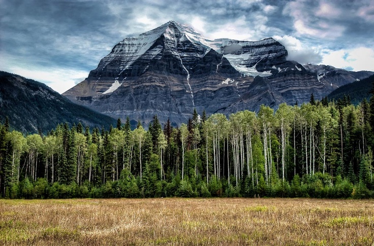 Mount Robson Provincial Park, British Columbia by Len Saltiel