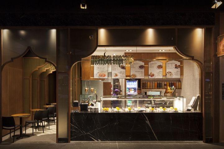 MUMBAI EXPRESS Indian Restaurant by StudioMKZ Sidney  Australia