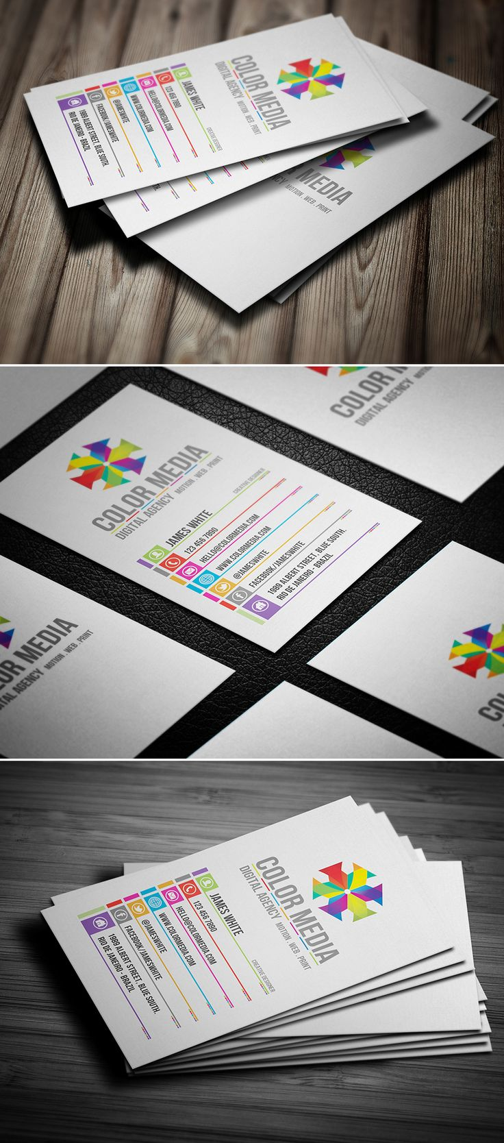 46 best business cards images on pinterest cards design and creative corporate business card by bdgpixel creative corporate business card is modern clean flat design style and elegant for anything creative agency magicingreecefo Gallery
