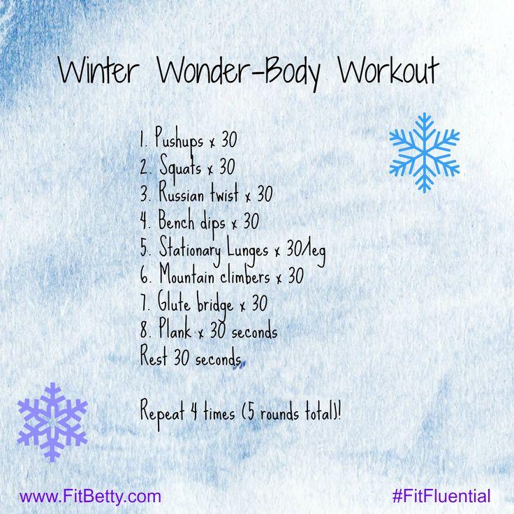 Winter Wonder-Body Workout