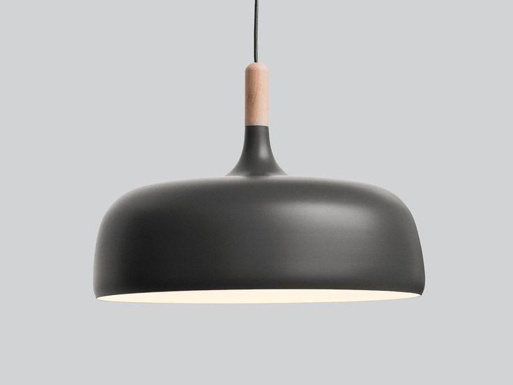Northern Lighting Acorn Pendant Grey