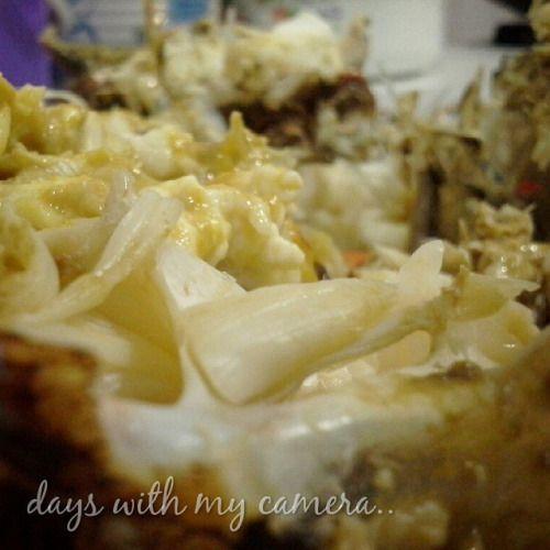 koles night… makan malam #kepiting #rebus dan #kukus dengan #saus #bawang #putih #dinner #crab #boiled #steamed #seafood #makan #malam #makanmalam