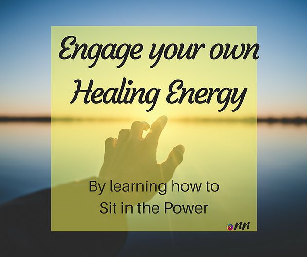 What is Sitting in the Power? This is the first stage of placing yourself into a quite silent state where it is possible to feel your own energy.