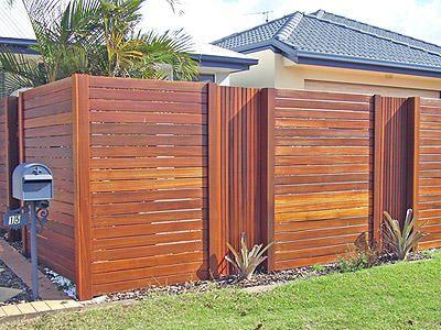 Horizontal timber fencing Sunhine Coast | Simon Brady | Local Smile Sunshine Coast