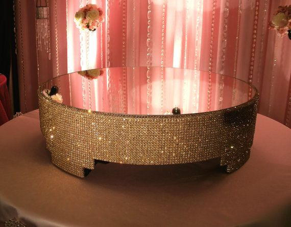 gold bling wedding cake stand 17 best images about cakestands etc on 14747