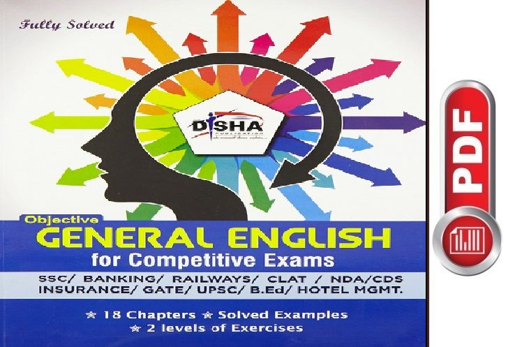 Get Free Download Objective General English For Competitive Exams Pdf Book By Disha Publication Available On Sit English For Competitive Exams Public Pdf Books