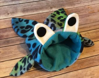 Gran cuy Snuggle saco - polar jaula accesorios peces tiburón monstruo dormir bolsa / cama Cuddle - bolsa de vinculación - erizos, ratas, hurones