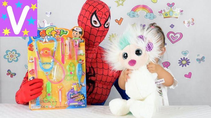 Набор доктора детский Играем в доктора с куклами СУПЕР УКОЛ Set Doctors ...