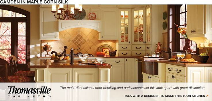 Silk Colored Cabinets Kitchen
