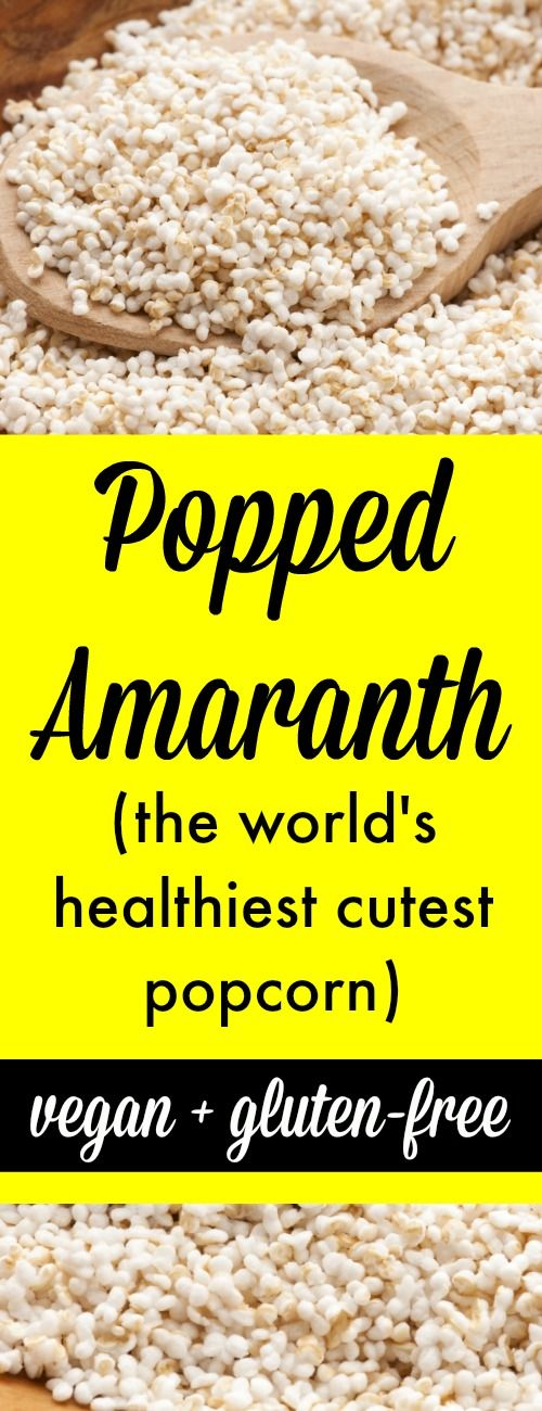 Popped Amaranth (the world's healthiest, cutest popcorn)  http://tesschallis.com/recipes/2016/11/8/how-to-make-popped-amaranth-the-worlds-tiniest-cutest-popcorn #vegan #glutenfree