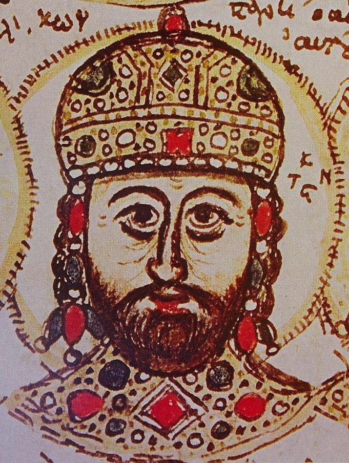 Constantine XI Palaiologos miniature.jpg-Facing the designs of the new Ottoman sultan, Mehmed II, on Constantinople, Constantine acknowledged the Union of the Churches and made repeated appeals for help to the West, but in vain. Refusing to surrender the city, he fell during the final Ottoman attack on 29 May 1453