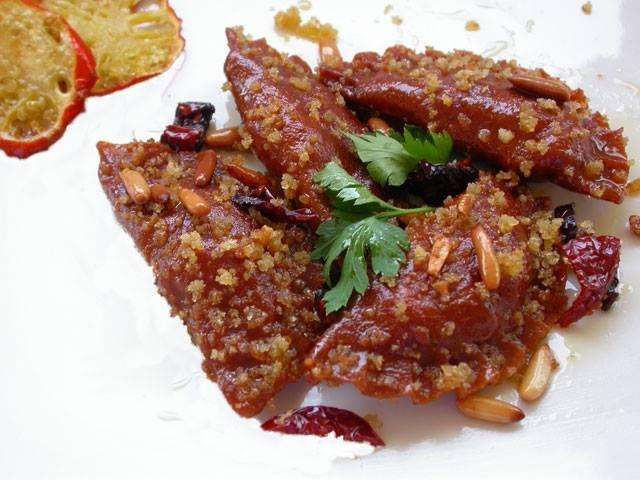 Appunti di cucina di Rimmel: Ravioli ai peperoni di Senise con gallinella e…