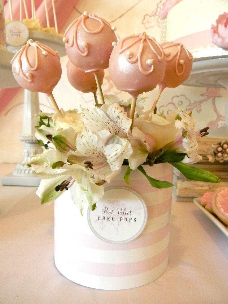 cake pop centerpieces for bridal shower - 28 images - 13 best images ...