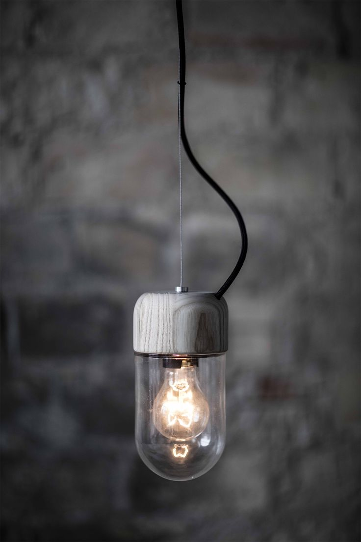 Element Lamp - 3 lamps in 1. Use it as table lamp, wall lamp or pendant . Designed by Ditte Buus Nielsen