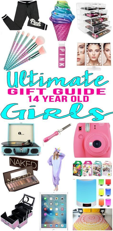 BEST Gifts 14 Year Old Girls! Top gift ideas that 14 yr old girls will love! Find presents & gift suggestions for a girls 14th birthday, Christmas or just because. Cool gifts for teen girls on their fourteenth bday. Wondering what to get a 14 year old for her birthday? We have you covered - get popular gift ideas - from makeup to electronics to sports & more - find the best gift ideas for a teenage girl! Amazing products for daughters, best friends & more. Shop what's trending for 14 year