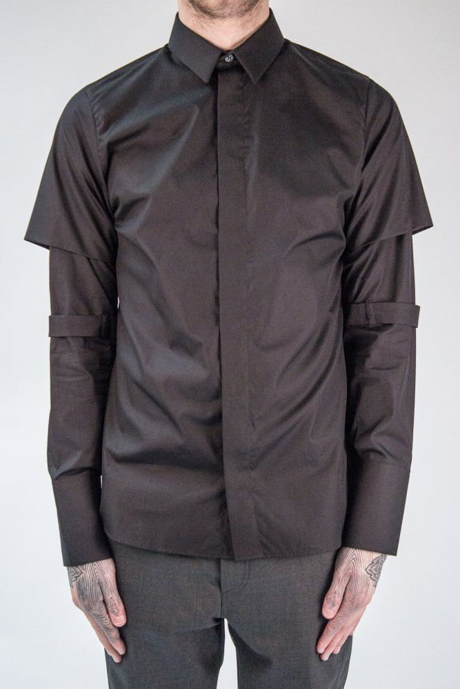 THE HOUSE OF NINES Calibre Shirt in Black | Autograph Menswear