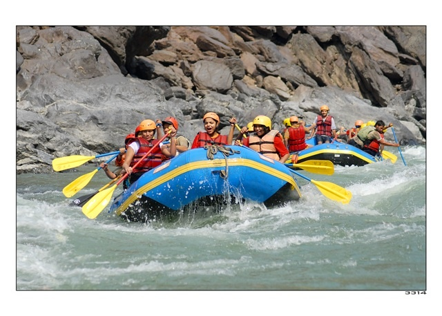 River Rafting on Ganges