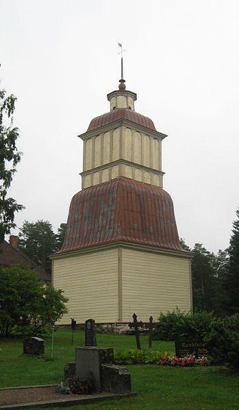 Joutsa church bell tower, Joutsa, Finland. Completed 1820 (estimate).