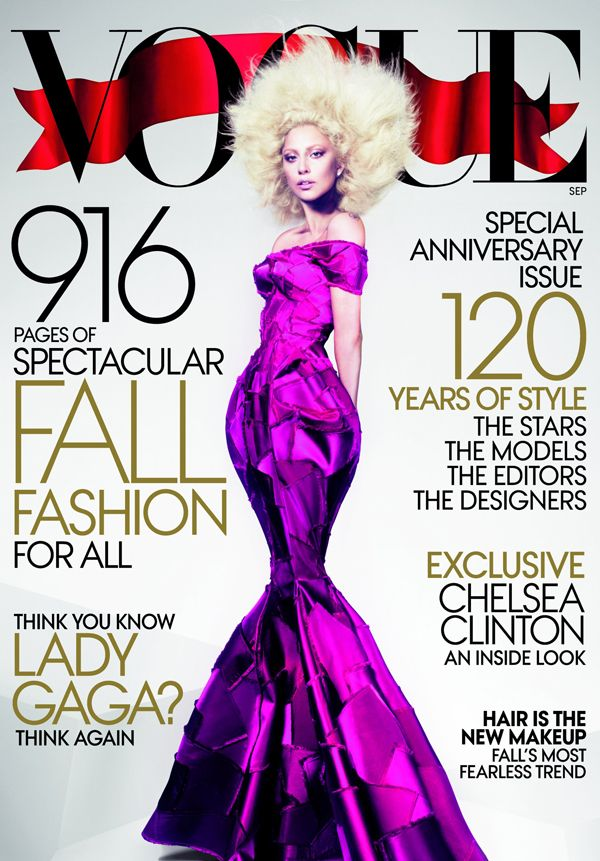 Wow. Lady Gaga Might've Made Vogue's September Issue Her Best Cover Yet