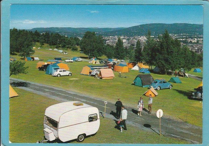 Oslo, Ekeberg Camping 1960-tallet