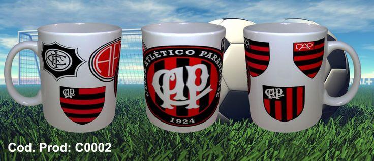 Canecas Times de Futebol - Atlético Paranaense