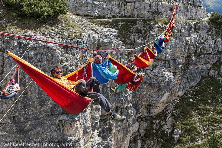 Monte Piana, Italia - International Highline Meeting