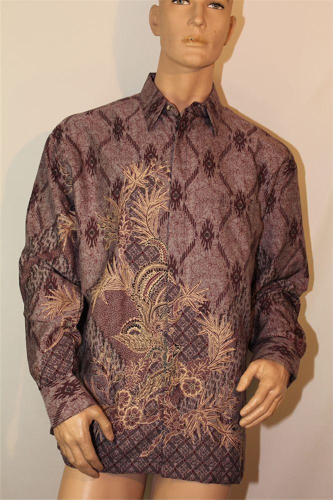 Jerci bied aan prachtige Indonesische Batik heren blouse - € 59,95
