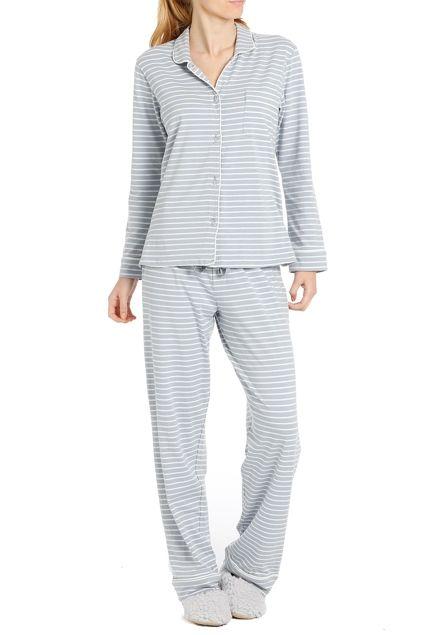 Papinelle Cosy Stripe Knit PJ Set - Womens Pyjamas - Birdsnest Online Fashion Store