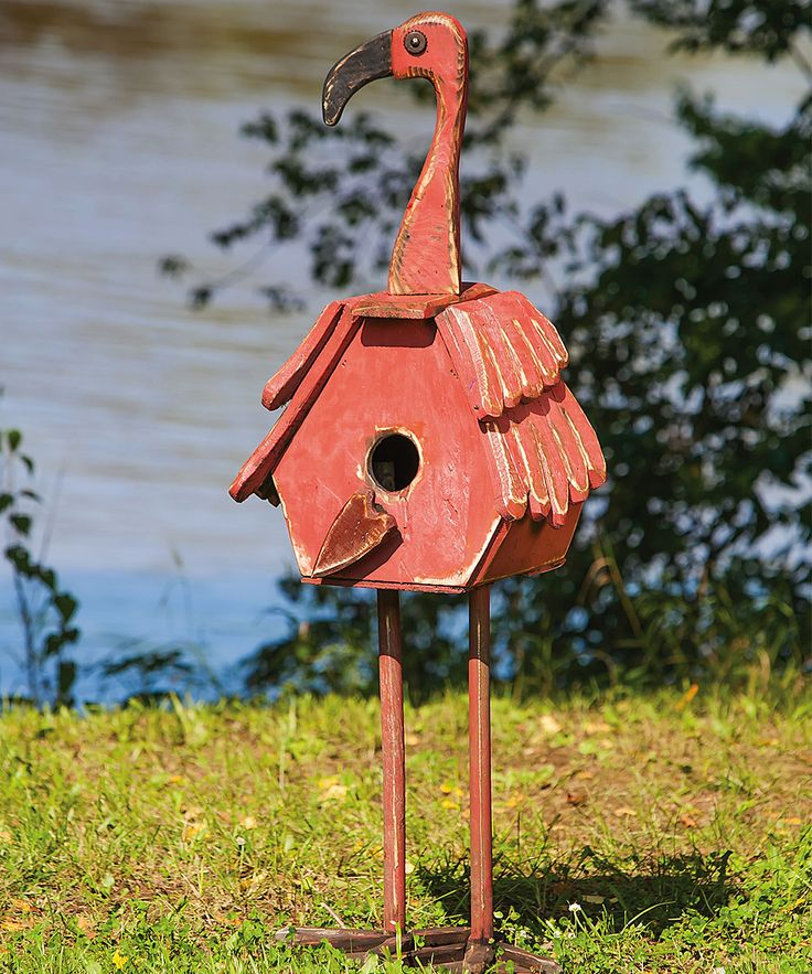 Flamingo Statue/Birdhouse - going to see if Scott will help me with this one!!