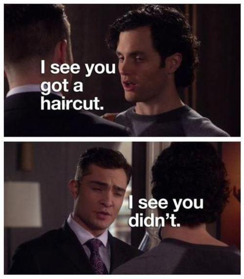 Oh, Chuck Bass... Gossip Girl, my guilty pleasure