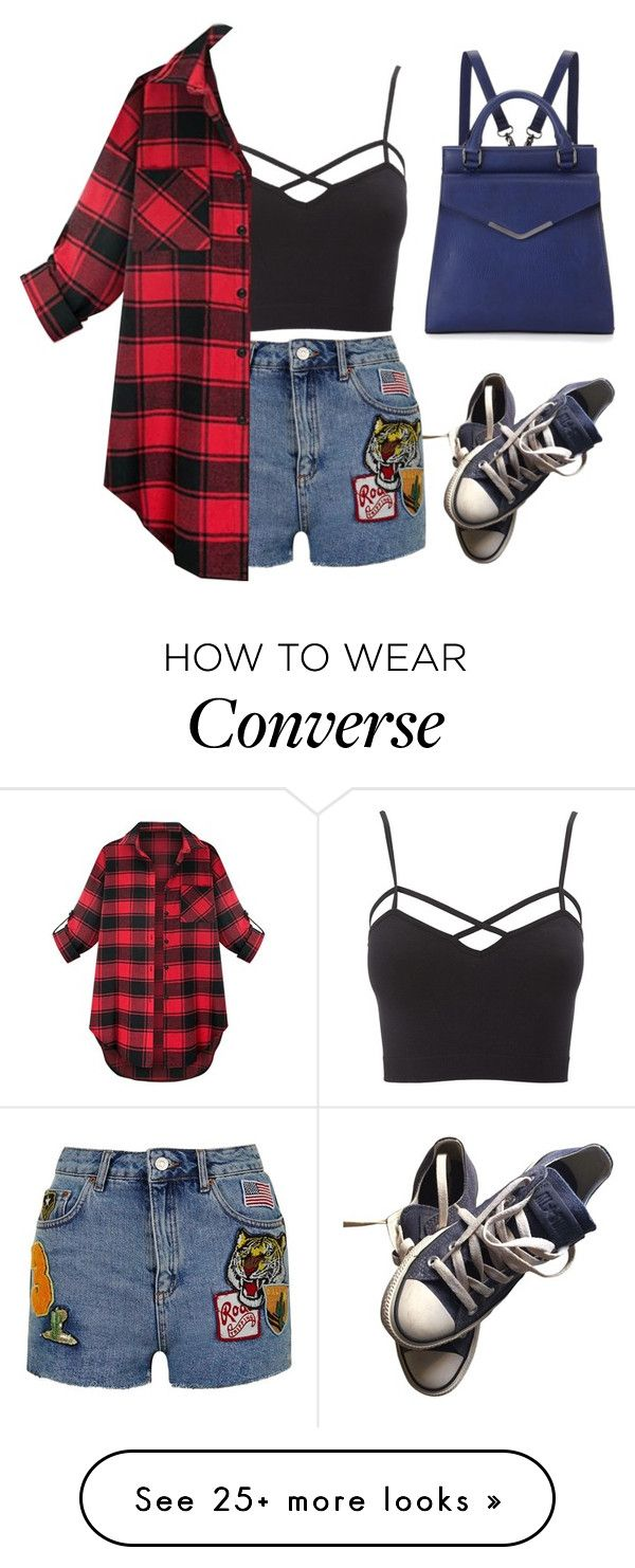 """Ruth"" by goodruth on Polyvore featuring Converse, Topshop, Charlotte Russe, Neiman Marcus and plus size clothing"