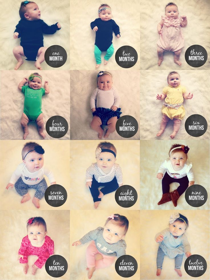 monthly baby photos, month to month baby photos