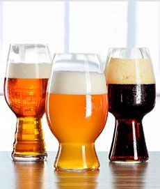 The right beer glass shape makes a big difference when drinking craft beers.