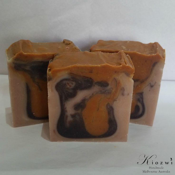 Cinnamon Orange Goats Milk Soap  http://www.kiozwi.com.au/goats-milk-soaps-essential-oils/
