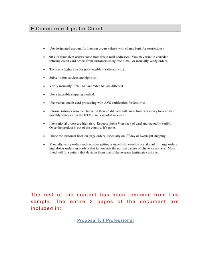 and Fraud Protection Tips This document is a