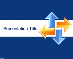 Online Learning PowerPoint template is a blue template slide for PowerPoint presentations that you can download and use in widescreen monitors as well as other modern projection devices