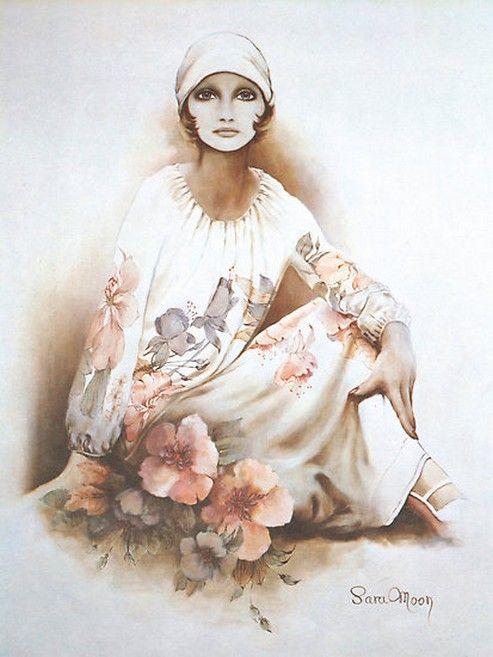 Sara Moon | Iranian Fashion painter | Tutt'Art@ | Pittura * Scultura * Poesia * Musica |