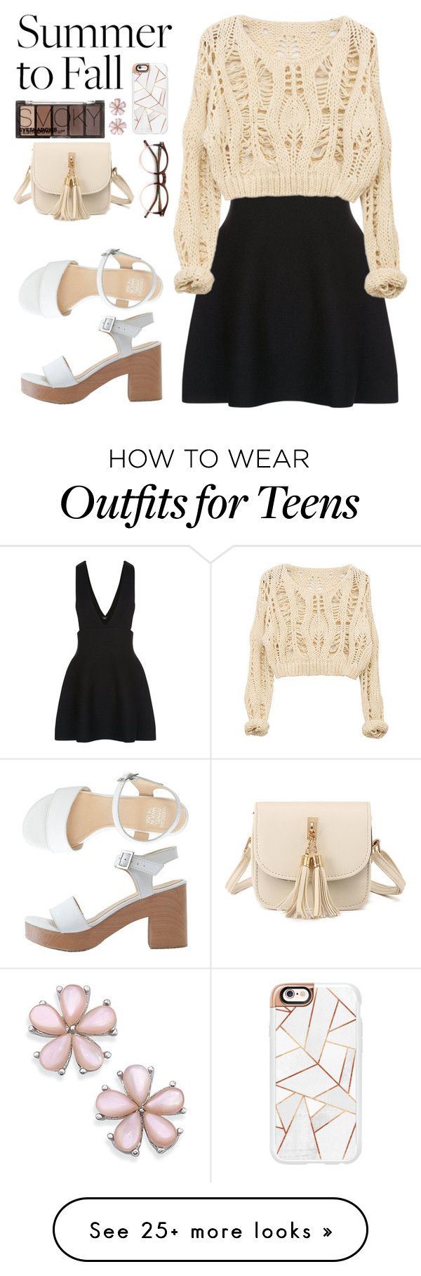 """""""Untitled #2299"""" by danielasilva12 on Polyvore featuring New Look, American Apparel, H&M, Wildfox and Casetify"""