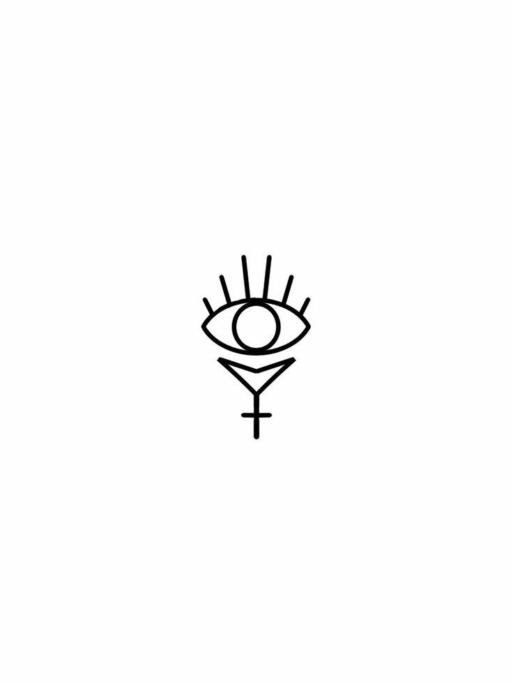 Third eye flash tattoo design