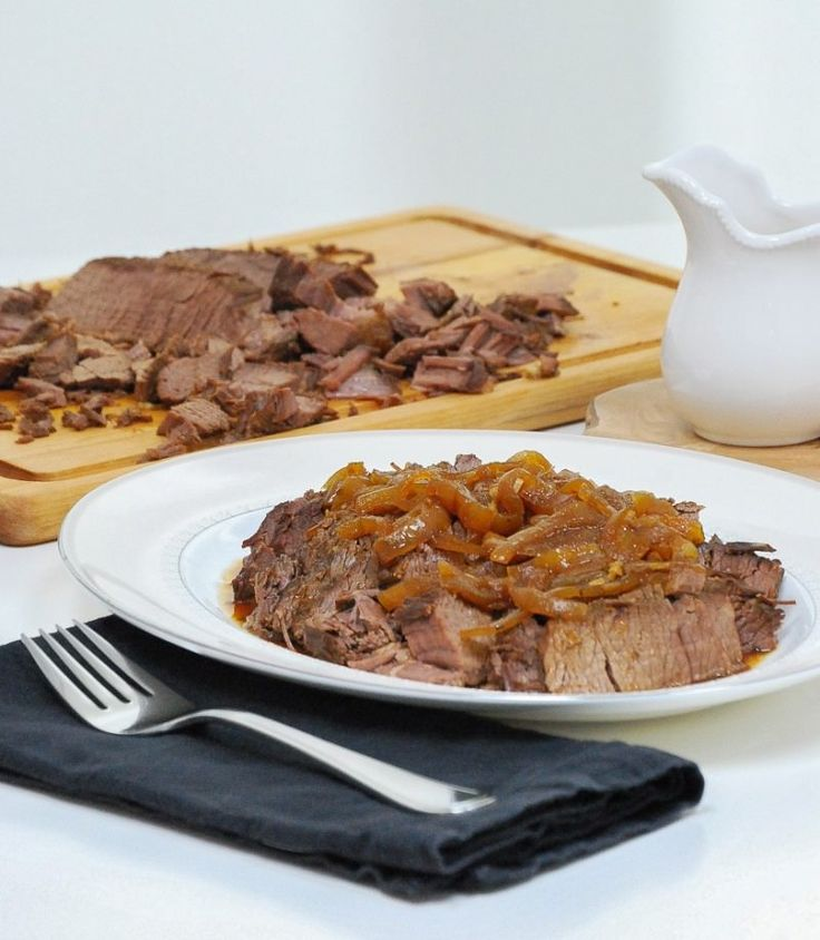 Slow Cooker Beef Brisket - Life is but a Dish