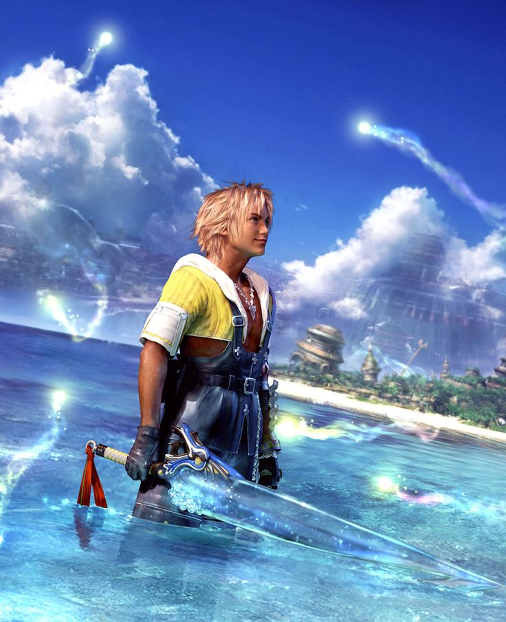 Final Fantasy X - CG Artwork, Tidus