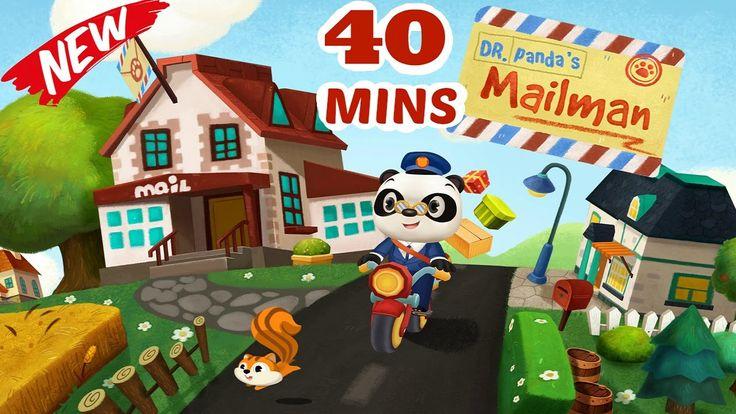 Dr Panda Mailman   Educational iPad app for Kids   Dr.Panda   Full Game ...