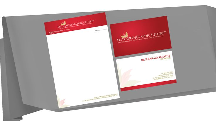 Wordist - #besurprised Brand Identity - Corporate Identity Suite, Letter Head/ Business Card/ Envelope, Logo, Brand Name, Caption/Tagline for Products/ Brands/ Personnel/ Organization | Client - Elite Orthopaedic Centre. This is a Corporate Identity Suite done for Elite Orthopaedic Centre. The concept was to come up with a creative design for the client's Corporate Identity and it is designed and conceptualised by the Team #wordistbrandidentity. We were asked to come up with a creative…