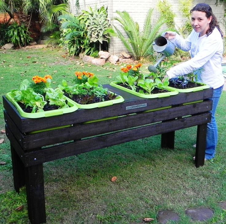 Rectangle Raised Flower Box Planter Bed 2 Tier Soil Pots: The 25+ Best Raised Planter Boxes Ideas On Pinterest