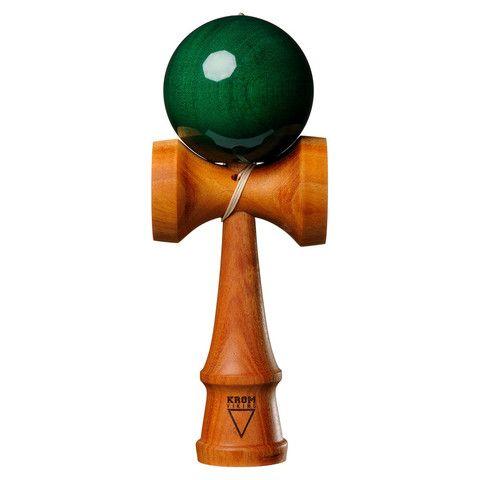 Kendama USA - KROM Viking - Mahogany - Emerald